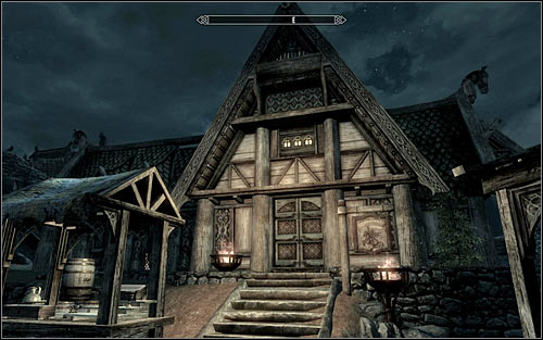 Depending on your liking, you can move to activating this quest at once, or dedicate some time to learn of it officially - The Whispering Door - Daedric quests - The Elder Scrolls V: Skyrim - Game Guide and Walkthrough