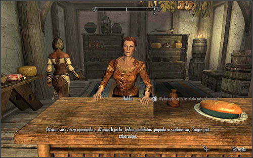 Speak with the innkeeper, Hulda - The Whispering Door - Daedric quests - The Elder Scrolls V: Skyrim - Game Guide and Walkthrough