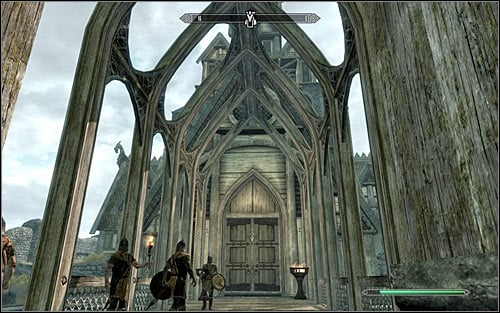 By default, Jarl Balgruuf should be at the Dragonsreach in Whiterun (screen above) - The Whispering Door - Daedric quests - The Elder Scrolls V: Skyrim Game Guide