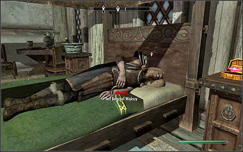 Head to the Jarl's sleeping room on the upper floor - The Whispering Door - Daedric quests - The Elder Scrolls V: Skyrim - Game Guide and Walkthrough