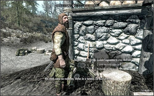 After getting to Morthal, head to the northern part of the village, cross a small bridge and you will reach a windmill and Jorgen and Lamis House - Pieces of the Past - p. 1 - Daedric quests - The Elder Scrolls V: Skyrim Game Guide