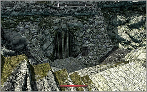 If you prefer to be stealthy and dont want to fight the Orcs, it would be best to enter the ruined keep from the north-west side, during the night - Pieces of the Past - p. 1 - Daedric quests - The Elder Scrolls V: Skyrim Game Guide