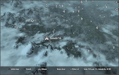 Keep going south and you should eventually reach a small town of Dushnikh Yal (screens above) - Pieces of the Past - p. 2 - Daedric quests - The Elder Scrolls V: Skyrim Game Guide