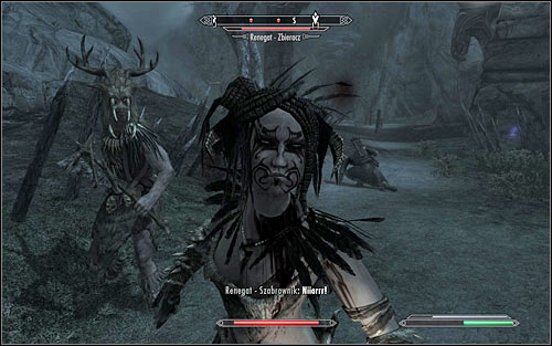After reaching the ruins, you will get attacked by the Forsworns (screen above) - Pieces of the Past - p. 2 - Daedric quests - The Elder Scrolls V: Skyrim Game Guide