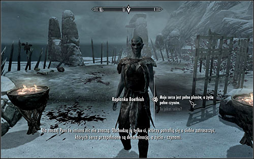 Approach the cultist camp and you should automatically be stopped by the Priestess, who will state that all gathered and the followers of Boethiah - Boethiah's Calling - p. 1 - Daedric quests - The Elder Scrolls V: Skyrim - Game Guide and Walkthrough