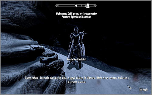 You will speak with Boethiah again after you're the last one left alive (screen above) - Boethiah's Calling - p. 1 - Daedric quests - The Elder Scrolls V: Skyrim - Game Guide and Walkthrough