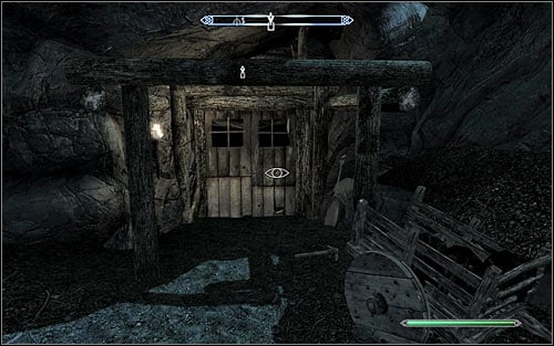 Regardless of the chosen tactic, you need to reach the main entrance to the Knifepoint Mine (screen above) - Boethiahs Calling - p. 2 - Daedric quests - The Elder Scrolls V: Skyrim Game Guide