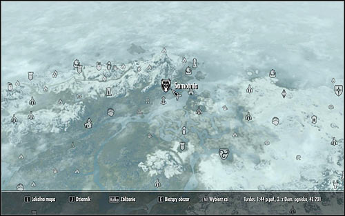 Open the world map and plan a travel to Solitude, located in the north part of Skyrim (the above screen) - Joining the Legion | Imperial Legion Quests - Imperial Legion Quests - The Elder Scrolls V: Skyrim Game Guide