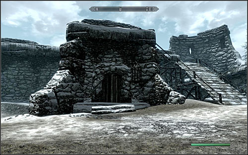 The other location that you need to secure is the Fort Hraggstad Prison (the above screen) - Joining the Legion | Imperial Legion Quests - Imperial Legion Quests - The Elder Scrolls V: Skyrim Game Guide