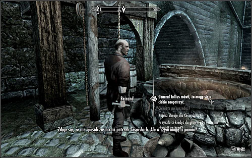 I would suggest going to Beirand at once and getting your due gear without delay - Joining the Legion | Imperial Legion Quests - Imperial Legion Quests - The Elder Scrolls V: Skyrim Game Guide