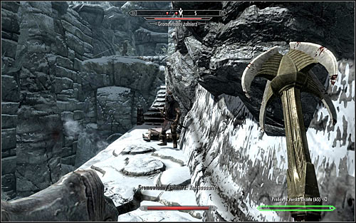 Follow the lead of the Legionnaires until you reach the camp of the Stormcloak soldiers - The Jagged Crown - p.1 | Imperial Legion Quests - Imperial Legion Quests - The Elder Scrolls V: Skyrim Game Guide