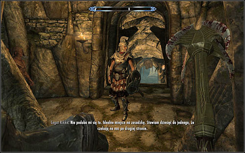 Fight until all Stormcloak soldiers are eliminated and go downstairs - The Jagged Crown - p.1 | Imperial Legion Quests - Imperial Legion Quests - The Elder Scrolls V: Skyrim Game Guide