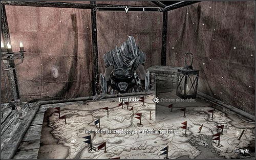 When you get there, look around for Legate Rikke and report to her for your next mission (the above screen) - Reunification of Skyrim - p.2 | Imperial Legion Quests - Imperial Legion Quests - The Elder Scrolls V: Skyrim Game Guide