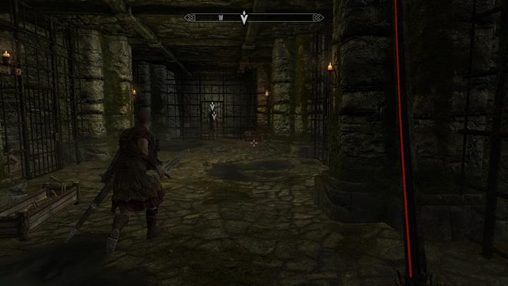 Accompany the guard and check the source of noise. - A Stormcloack in Chains | Quests in the game - Quests in the game - The Elder Scrolls V: Skyrim Game Guide