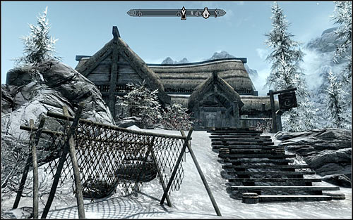 According to Rikkes tip, you can find the courier in one of two inns - A False Front | Imperial Legion Quests - Imperial Legion Quests - The Elder Scrolls V: Skyrim Game Guide