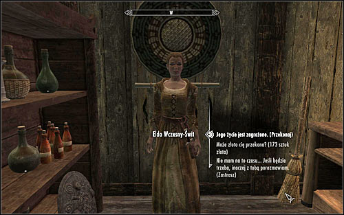 The innkeeper refuses to share any details on their clients, leaving you with a few options - A False Front | Imperial Legion Quests - Imperial Legion Quests - The Elder Scrolls V: Skyrim Game Guide