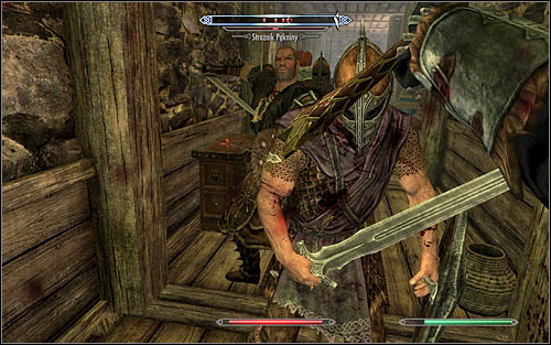 Note - if you spend too much time exploring the areas closed to guests or run around the keep with your weapons drawn, you can encourage the guards to attack your character - Compelling Tribute | Imperial Legion Quests - Imperial Legion Quests - The Elder Scrolls V: Skyrim Game Guide