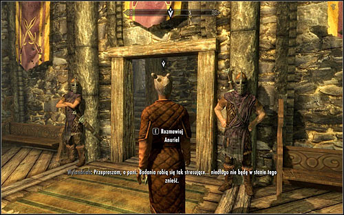 Follow Anuriel and stay close to her as advised (the above screen) - Compelling Tribute | Imperial Legion Quests - Imperial Legion Quests - The Elder Scrolls V: Skyrim Game Guide