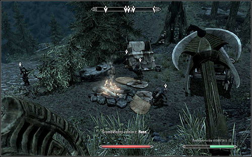 Only then move forward to the Stormcloaks camp (the above screen) - Compelling Tribute - Imperial Legion Quests - The Elder Scrolls V: Skyrim - Game Guide and Walkthrough