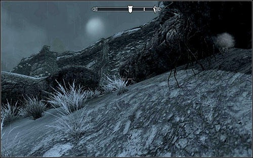 After several meters, I suggest crouching or at least slowing down so as not to be spotted nor heard - Rescue from Fort Kastav | Imperial Legion Quests - Imperial Legion Quests - The Elder Scrolls V: Skyrim Game Guide