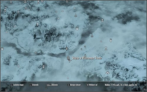 Open the world map and youll see that Windhelm has been temporarily removed from the list of available locations - Battle for Windhelm | Imperial Legion Quests - Imperial Legion Quests - The Elder Scrolls V: Skyrim Game Guide