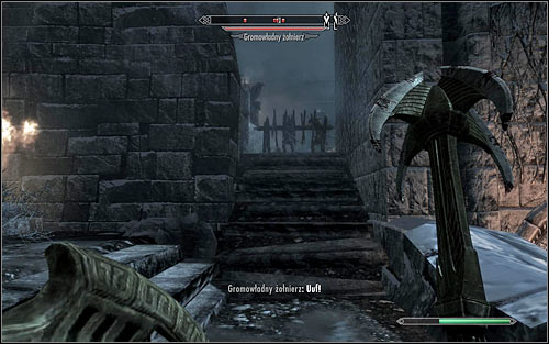 Both ways mentioned above lead to the north passage pictured on the above screen - Battle for Windhelm | Imperial Legion Quests - Imperial Legion Quests - The Elder Scrolls V: Skyrim Game Guide