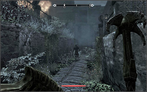 Head north, one by one eliminating soldiers you run into on the way - Battle for Windhelm - Imperial Legion Quests - The Elder Scrolls V: Skyrim - Game Guide and Walkthrough