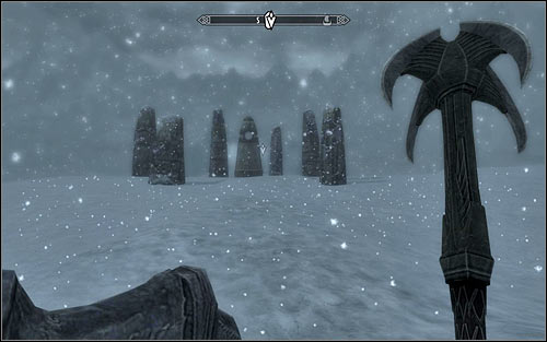 Use one of the paths leading to the highest point of the island - Joining the Stormcloaks | Stormcloak Rebellion Quests - Stormcloak Rebellion Quests - The Elder Scrolls V: Skyrim Game Guide