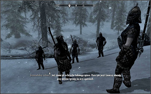 Once youre there, look around for Galmars unit (the above screen) and join it - The Jagged Crown - p.1 | Stormcloak Rebellion Quests - Stormcloak Rebellion Quests - The Elder Scrolls V: Skyrim Game Guide