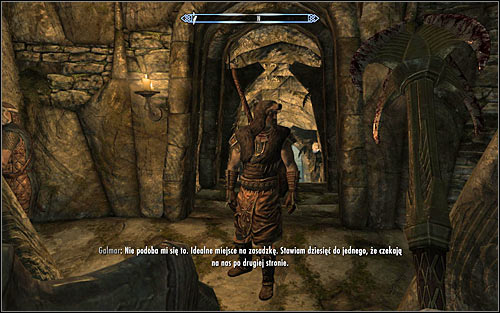 Fight until all Imperials are eliminated and go downstairs - The Jagged Crown - p.1 | Stormcloak Rebellion Quests - Stormcloak Rebellion Quests - The Elder Scrolls V: Skyrim Game Guide