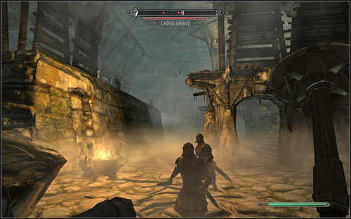If you feel secure and so far hadnt had any problems with eliminating enemy soldiers, you can ignore Galmars warning and go north right away - The Jagged Crown - p.1 | Stormcloak Rebellion Quests - Stormcloak Rebellion Quests - The Elder Scrolls V: Skyrim Game Guide