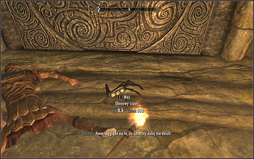 Start by picking up the Ebony Claw, which you can find on one of the dead bodies (the above screen) - The Jagged Crown - p.2 | Stormcloak Rebellion Quests - Stormcloak Rebellion Quests - The Elder Scrolls V: Skyrim Game Guide