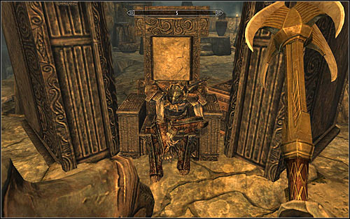 Follow Galmars unit, saving the game after you reach a large chamber - The Jagged Crown - p.2 | Stormcloak Rebellion Quests - Stormcloak Rebellion Quests - The Elder Scrolls V: Skyrim Game Guide