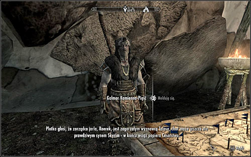 Be careful, because on the way to the Stormcloak camp you can be attacked by wild animals - Liberation of Skyrim - p.1 | Stormcloak Rebellion Quests - Stormcloak Rebellion Quests - The Elder Scrolls V: Skyrim Game Guide