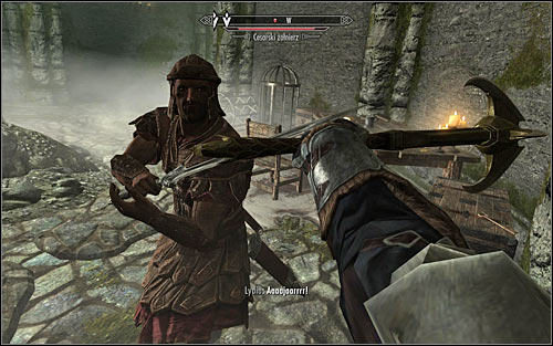 Be careful while exploring the cellar, because you might get caught in a bear trap - Rescue from Neugrad - p.1 | Stormcloak Rebellion Quests - Stormcloak Rebellion Quests - The Elder Scrolls V: Skyrim Game Guide