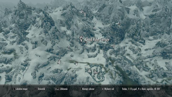 Where to start the quest: Cloud Ruler Temple (north from Bruma) - The Way Home | Quests in the game - Quests in the game - The Elder Scrolls V: Skyrim Game Guide