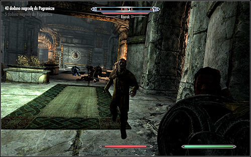 Note - if you spend too much time exploring the areas closed to guests or run around the keep with your weapons drawn, you can encourage the guards to attack your character - Compelling Tribute - p.1 | Stormcloak Rebellion Quests - Stormcloak Rebellion Quests - The Elder Scrolls V: Skyrim Game Guide