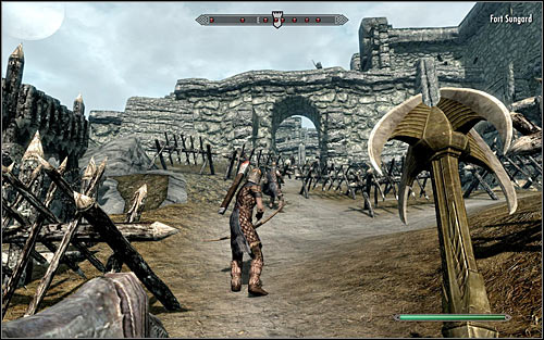 There are several ways to enter the fort - The Battle for Fort Sungard | Stormcloak Rebellion Quests - Stormcloak Rebellion Quests - The Elder Scrolls V: Skyrim Game Guide