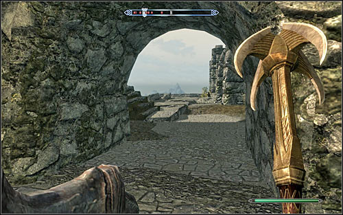 The second way into the fort is from the back, from the forts south side (the above screen) - The Battle for Fort Sungard | Stormcloak Rebellion Quests - Stormcloak Rebellion Quests - The Elder Scrolls V: Skyrim Game Guide