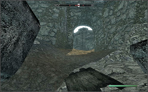 The last way in is the small passage in the northeast part of the fort (the above screen) - The Battle for Fort Sungard | Stormcloak Rebellion Quests - Stormcloak Rebellion Quests - The Elder Scrolls V: Skyrim Game Guide