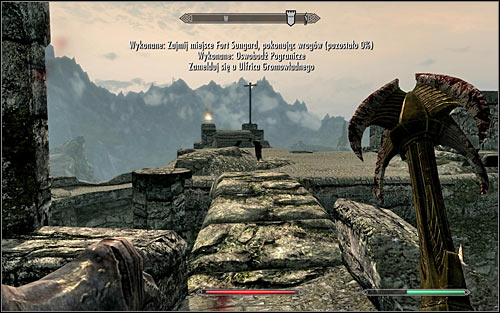 No matter the playing style, keep eliminating enemy soldiers - The Battle for Fort Sungard | Stormcloak Rebellion Quests - Stormcloak Rebellion Quests - The Elder Scrolls V: Skyrim Game Guide