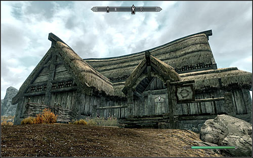 The second one is the Frostfruit Inn (the above screen) in Rorikstead in the central part of the map - A False Front | Stormcloak Rebellion Quests - Stormcloak Rebellion Quests - The Elder Scrolls V: Skyrim Game Guide