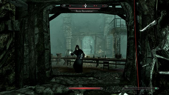 Use a passage to go to Underpall Keep - Undeath at Underpall | Quests in the game - Quests in the game - The Elder Scrolls V: Skyrim Game Guide