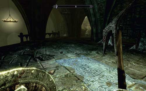 Doing so will cause the statue to come to life and raise the grate nearby the stairs - Chasing Echoes - p. 2 - Dawnguard path - The Elder Scrolls V: Skyrim - Dawnguard - Game Guide and Walkthrough