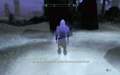 On your way to the imprisoned vampire in Soul Cairn, you will be stopped by one of the souls - Find Arvak's skull in the Soul Cairn - Mutual side missions - The Elder Scrolls V: Skyrim - Dawnguard - Game Guide and Walkthrough