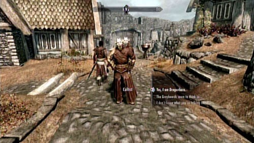 The Cultists will ask you if you really are the Dragonborn - Find out who sent the cultists - Main story mode - Dragonborn - The Elder Scrolls V: Skyrim - Dragonborn - Game Guide and Walkthrough