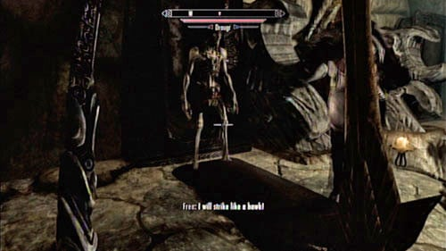 Head further past the room with the altar (you can find two soul gems there) and head into the corridor - Find the source of Miraak's power - Main story mode - The Temple of Miraak - The Elder Scrolls V: Skyrim - Dragonborn - Game Guide and Walkthrough
