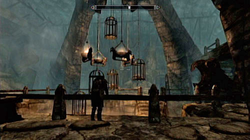 Push the switch by the grate and head into the next cave - Find the source of Miraak's power - Main story mode - The Temple of Miraak - The Elder Scrolls V: Skyrim - Dragonborn - Game Guide and Walkthrough