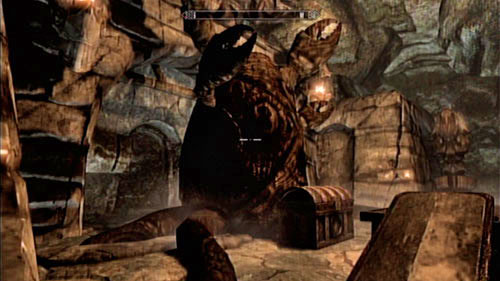 After dealing with him, take a look around the area - Find the source of Miraak's power - Main story mode - The Temple of Miraak - The Elder Scrolls V: Skyrim - Dragonborn - Game Guide and Walkthrough