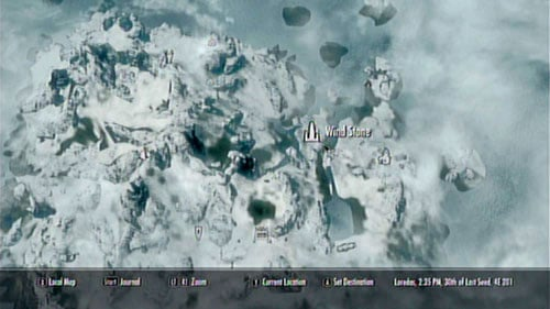 Use the Bend Will Shout on the Wind Stone   Main story mode ... Dragon Shout Locations Map on dragon dogma map, dragon reach map, dragon run map, dragon masks skyrim locations map, dragon mask locations on the map,